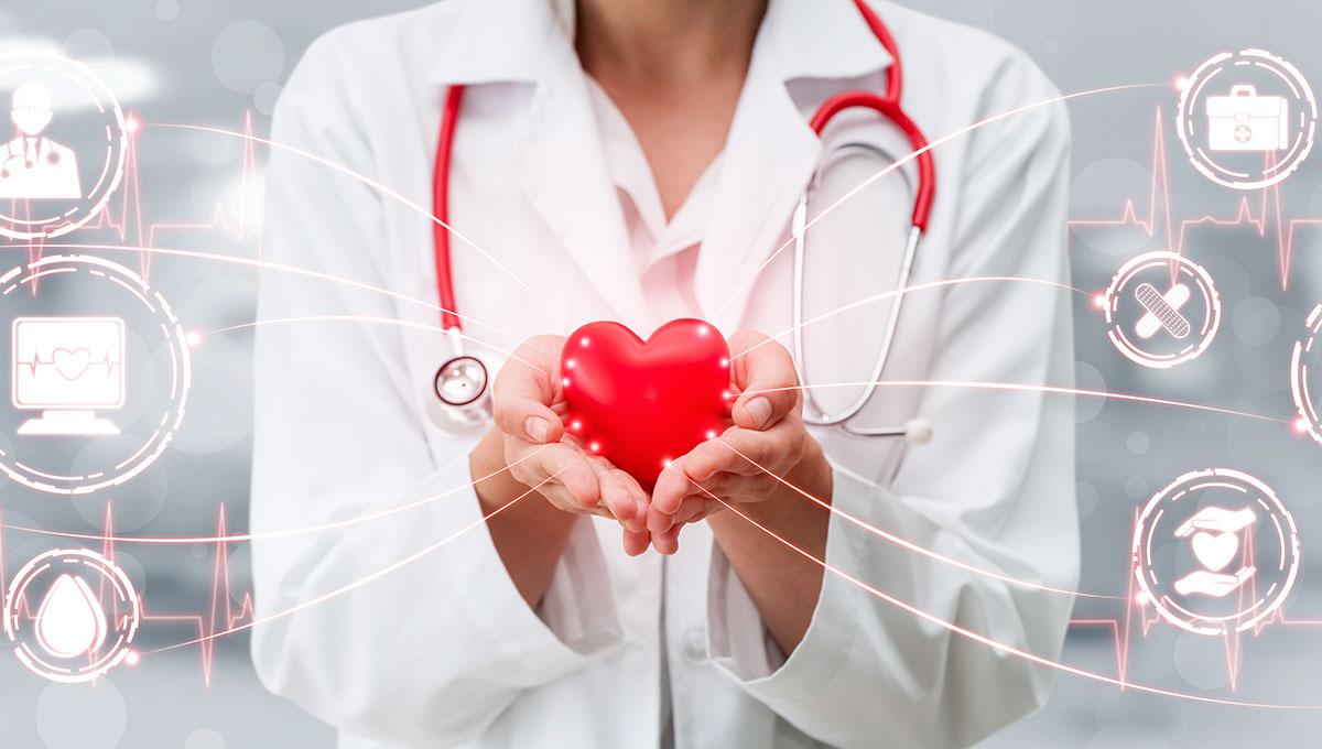 Γυναίκα γιατρός, συμβουλές μετά από επέμβαση καρδιάς
